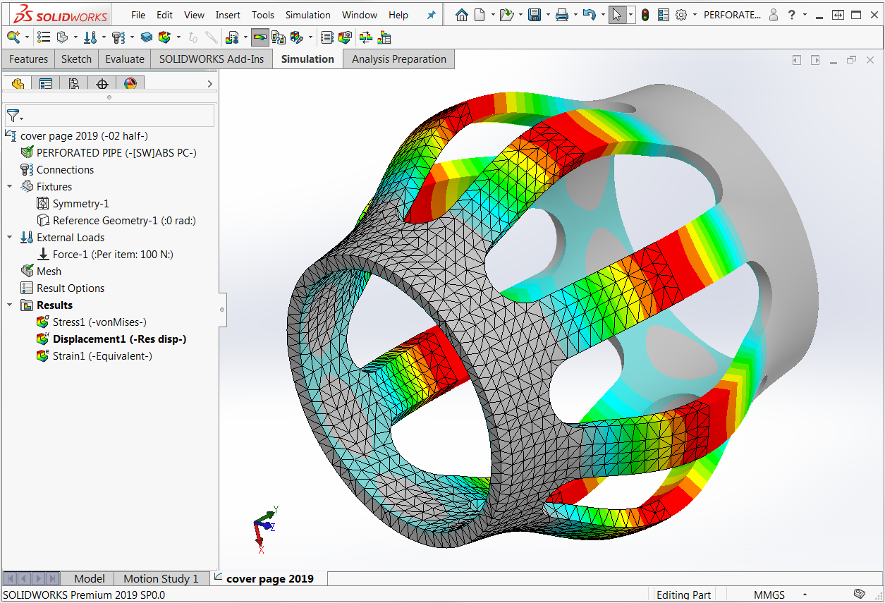 Analysis with SOLIDWORKS Simulation